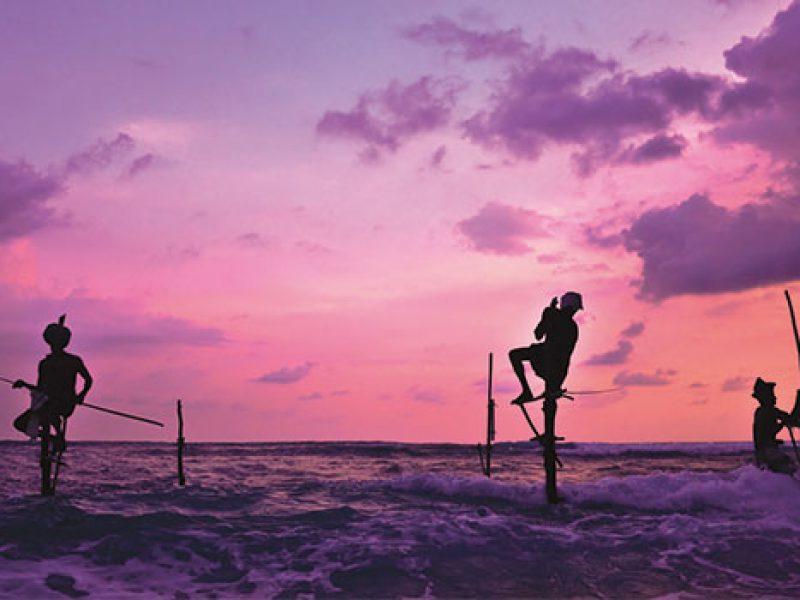 Still Fishermen in Sri Lanka